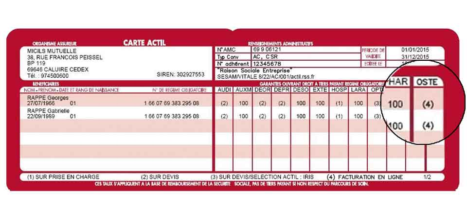 ACTIL   un tiers payant pour l ostéopathie   - OSTÉOMAG.FROSTÉOMAG.FR 73c2bfa4689d