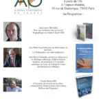 28 MARS 2015 – AG de l'Académie d'Ostéopathie et Conférence-Débat