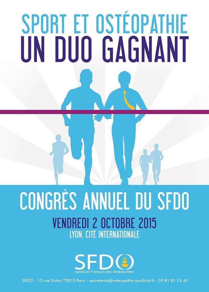 CONGRES SFDO OSTEOPATHIE 2015