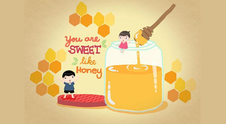 Les pansements au miel … pour des guérisons bien léchées !
