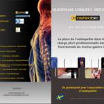 1er et 2 Avril 2016 – 4e Congrès International OSTEOBIO