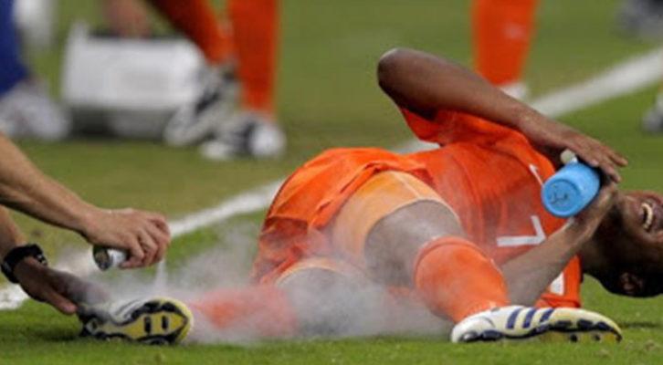 13. Les blessures dans le sport