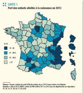 allaintement en France-DRESS_osteomag