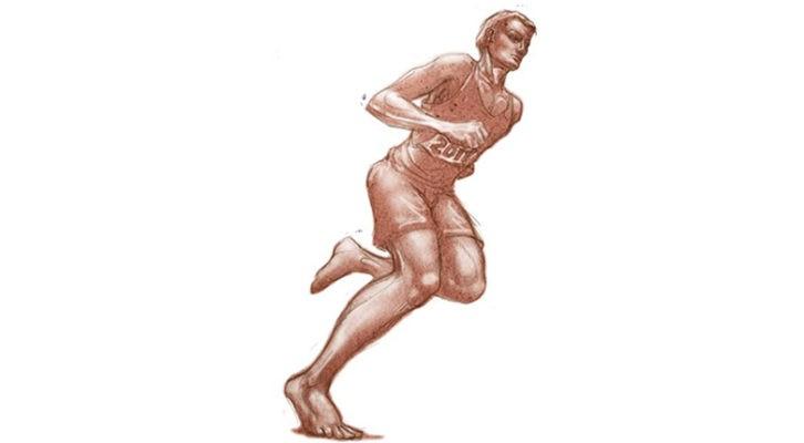 Courir pieds nus améliore la technique et réduit le risque de lésions