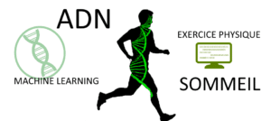 Adn, Machine learning, Exercice physique, Sommeil