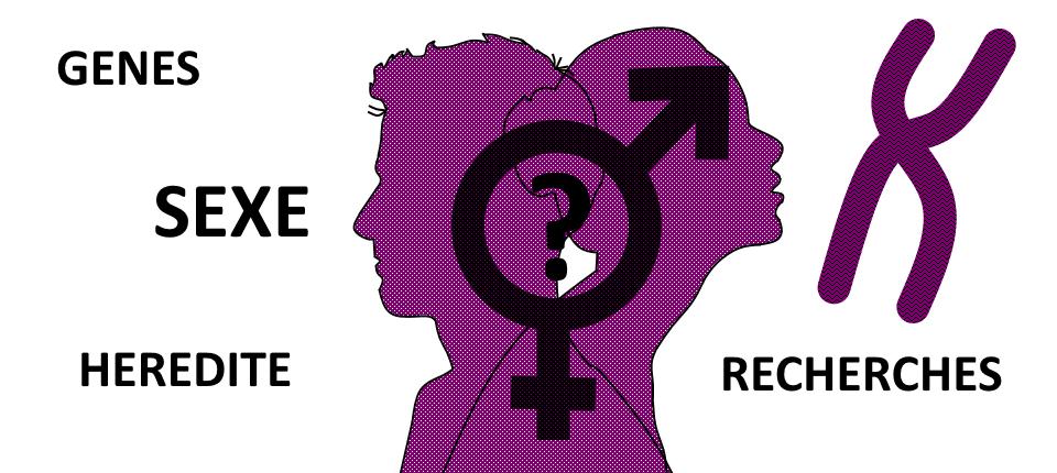Genes, Sexe, Hérédité, recherches